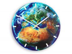 Mazur Nástěnné hodiny Globe modré