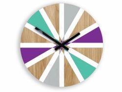 Mazur Nástěnné hodiny Vento barevné