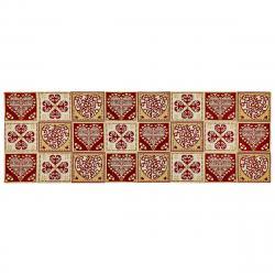 Boma Trading Běhoun Srdce červená, 32 x 96 cm