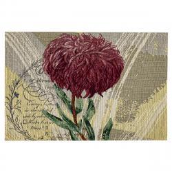 Boma Trading Prostírání Chryzantéma fialová, 32 x 48 cm