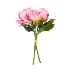 FLORISTA Pivoňka kytice - sv. růžová