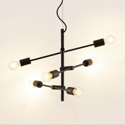 Lindby Lindby Estar závěsné světlo, šestižárovkové