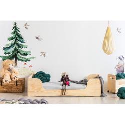 Dětská postel z borovicového dřeva Adeko Pepe Frida,80x160cm
