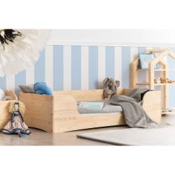 Dětská postel z borovicového dřeva Adeko Pepe Dan,80x200cm