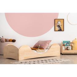 Dětská postel z borovicového dřeva Adeko Pepe Adel,100x200cm