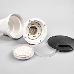 Fumagalli LED podlahové světlo Ceci 120-3L černá CCT