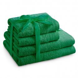 Amelia Home Sada bavlněných ručníků AmeliaHome AMARI zelená