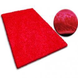 3kraft Kusový koberec SHAGGY GALAXY červený