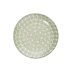 RETRO Sada snídaňových talířů 20,3 cm set 6 ks - zelená
