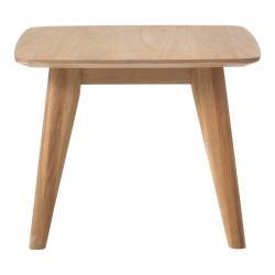 Odkládací stolek s nohami z dubového dřeva Unique Furniture Rho,60x60cm