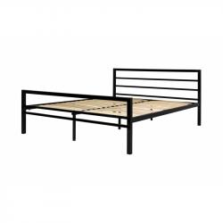 Hector Kovová postel Eveline 160x200 dvoulůžko - černé