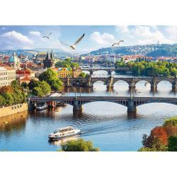 Trefl Puzzle Pražské mosty, Česká republika, 500 dílků