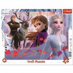 Trefl Puzzle Ledové království Dobrodružství, 25 dílků