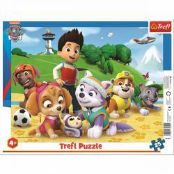 Trefl Puzzle Tlapková patrola, 25 dílků
