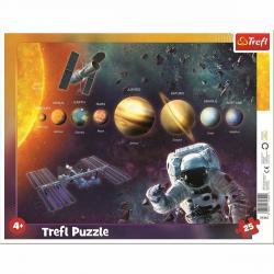 Trefl Puzzle Sluneční soustava, 25 dílků