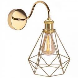 TooLight Nástěnná lampa Olava zlatá