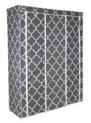TZB Textilní skříň SONIA šedá