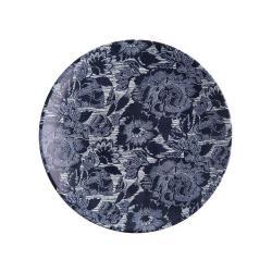 BLUE BLOSSOM Talíř 26,5 cm - tm. modrá