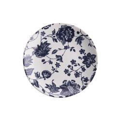 BLUE BLOSSOM Snídaňový talíř 21,5 cm - tm. modrá