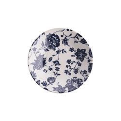 BLUE BLOSSOM Talíř na polévku 600 ml - tm. modrá