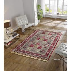 Červený koberec z viskózy Mint Rugs Precious, 70x140cm