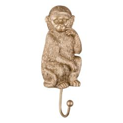 Háček ve zlaté barvě Leitmotiv Monkey