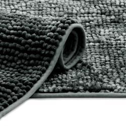 AmeliaHome Koupelnová předložka Bati černá, 50 x 70 cm