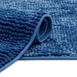 AmeliaHome Koupelnová předložka Bati tmavě modrá, 70 x 120 cm
