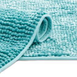 AmeliaHome Koupelnová předložka Bati modrá, 60 x 90 cm
