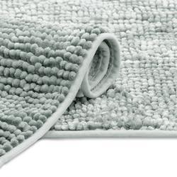 AmeliaHome Koupelnová předložka Bati šedá, 70 x 120 cm, 70 x 120 cm