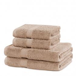 Set béžových ručníků DecoKing Niki