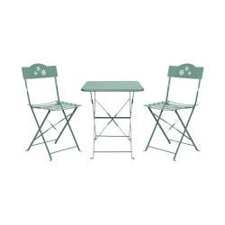 DAISY JANE Set zahradního nábytku pro 2 osoby - šalvějová