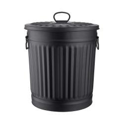 LITTLE OSCAR Odpadkový koš 18 l - černá