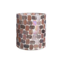 MARLA  Svícen s mozaikou 10 cm