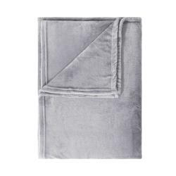 LAZY DAYS Flísová deka 200 x 150 cm - šedá