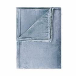 LAZY DAYS Flísová deka 200 x 150 cm - modrá