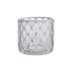 SHIMMER&SHINE Svícen na čajovou svíčku 10 cm - čirá