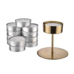 HIGHLIGHT Set svícnu a maxi čajových svíček
