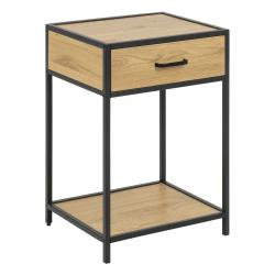 Noční stolek Actona Seaford vdekoru divokého dubu