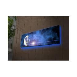 Podsvícený obraz Ledda Universe, 90x30cm