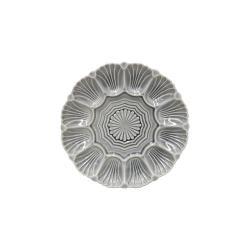 Šedý kameninový talíř Costa Nova Cristal, ⌀25 cm
