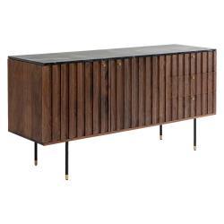 Nízká komoda zakáciového dřeva Kare Design Apiano, šířka150cm