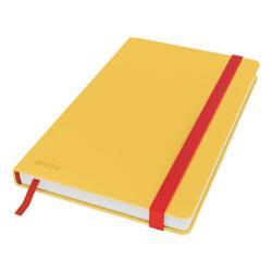 Žlutý zápisník s hebkým povrchem Leitz, 80 stran