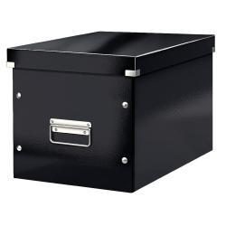 Černá úložná krabice Leitz Office, délka 36 cm