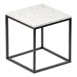 Konferenční stolek s kamennou deskou RGE Bianco
