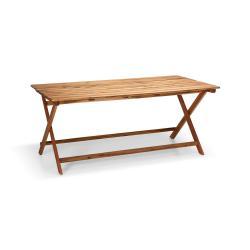 Zahradní stůl z akáciového dřeva Le Bonom Natur, 88 x 171 cm