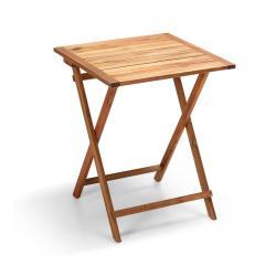 Zahradní skládací stolek z akáciového dřeva Le Bonom