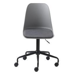 Šedá kancelářská židle Unique Furniture