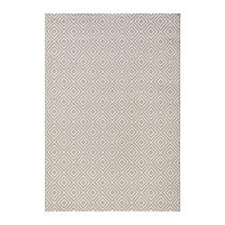 Šedý venkovní koberec Bougari Karo, 140x200cm