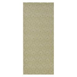 Zelený venkovní koberec Bougari Karo, 80x150cm